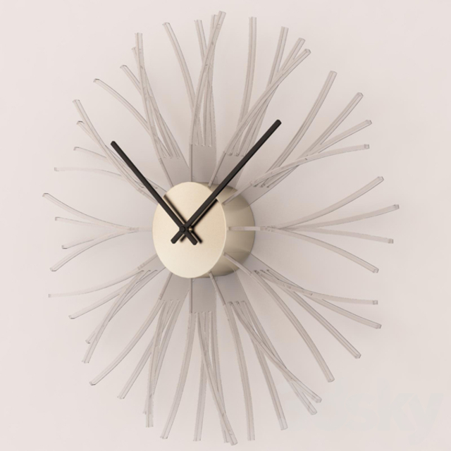 Wall Clock Chrome Synapse