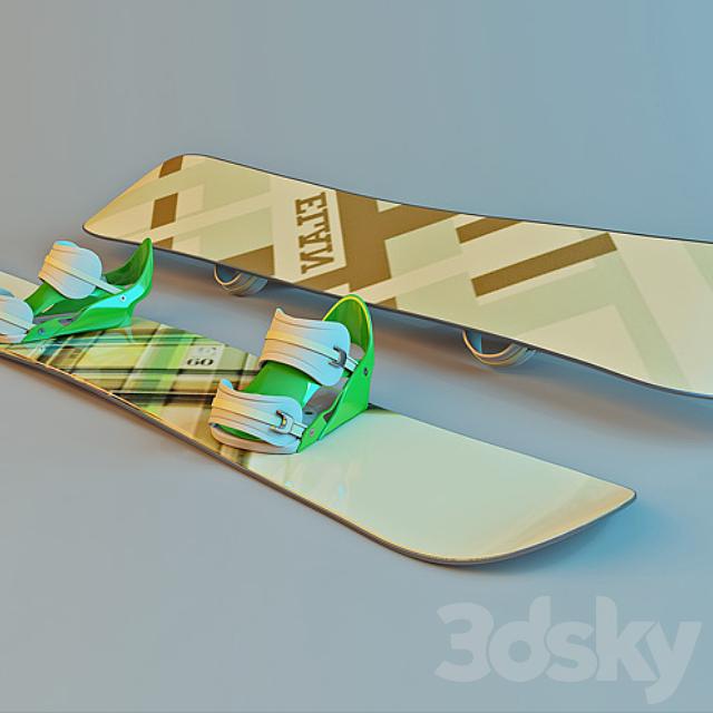 Snowboard Elan Pure