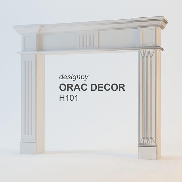 Framing fireplace Orac Decor H101B