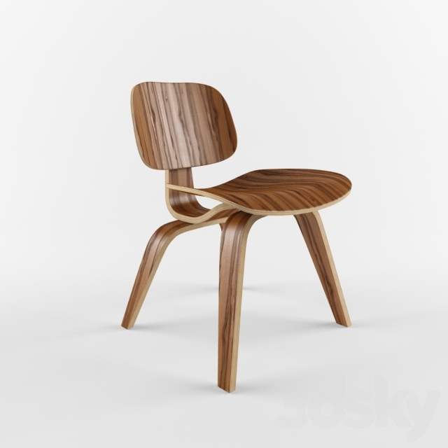 3d models: Chair - DCW dining chair