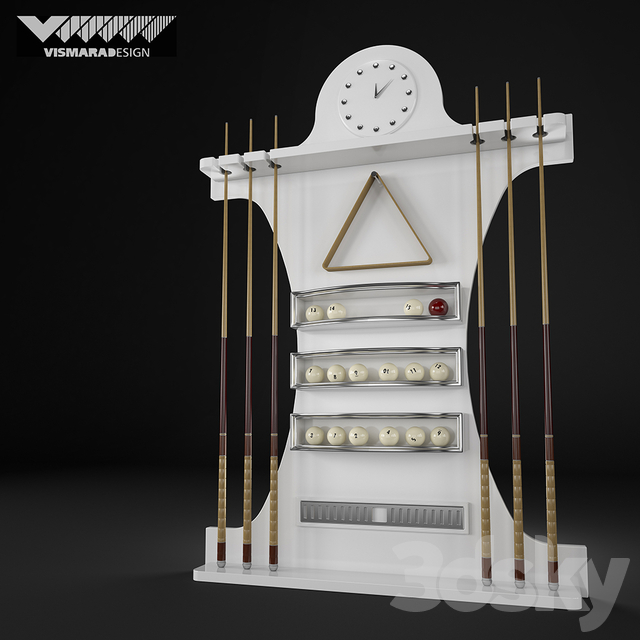 Vismara Design Cue Rack - ART DECO