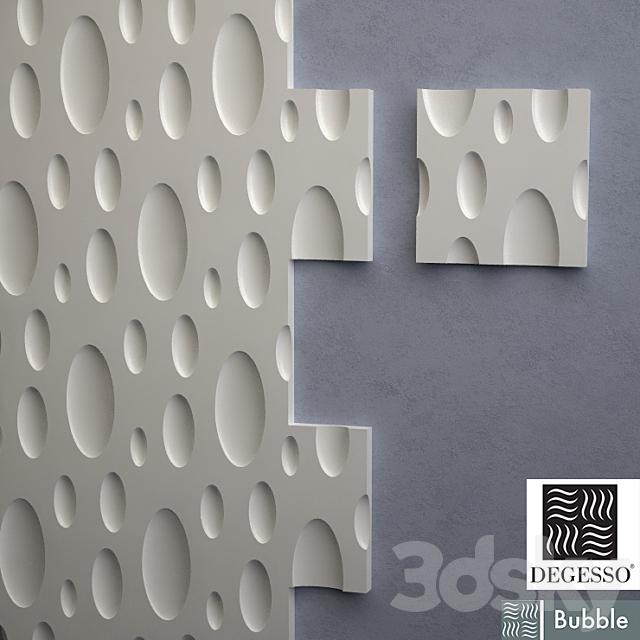 3D Panels Degesso Bubble