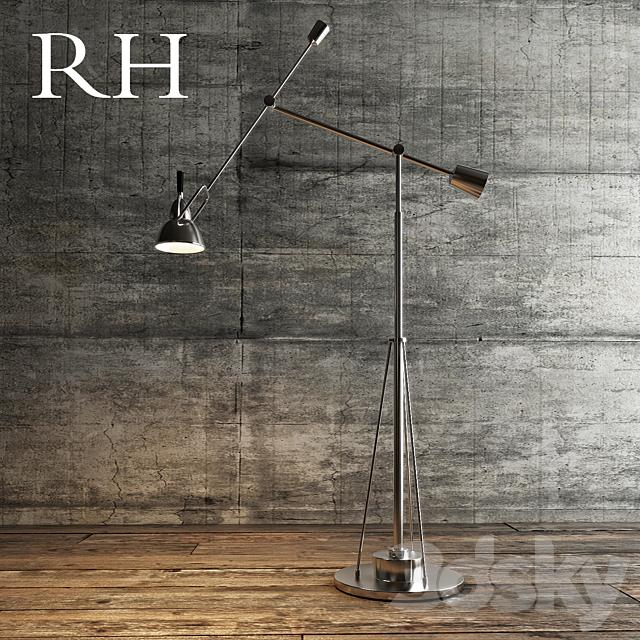 Floor_lamp_RH_Metal_Silver