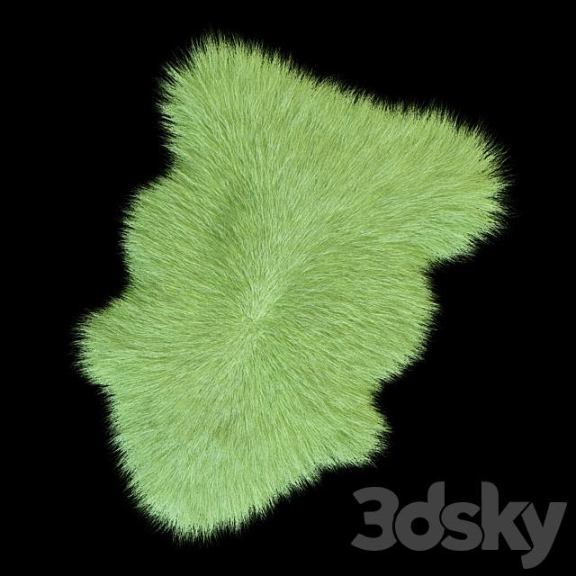 Skin Sheepskin longhair