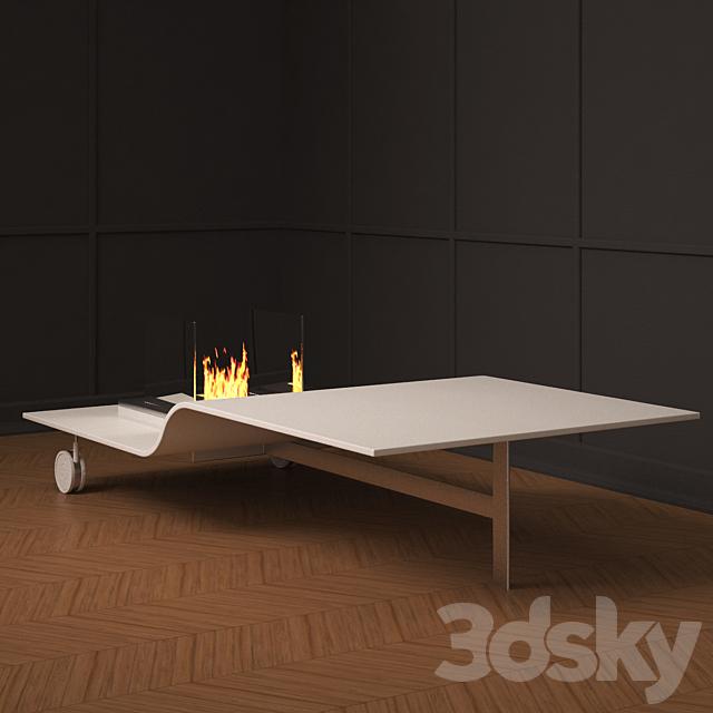 Moma design - longue fireplace