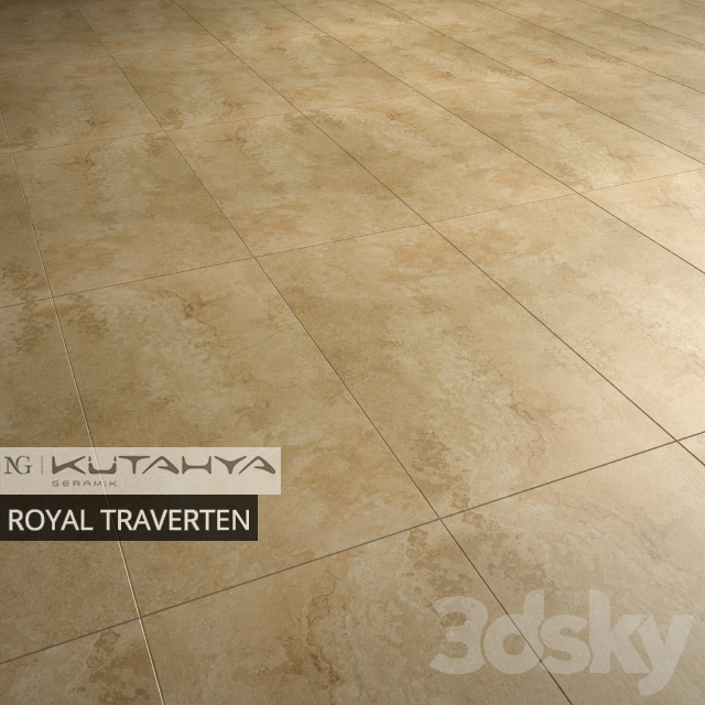 KUTAHYA SERAMIK ROYAL TRAVERTEN