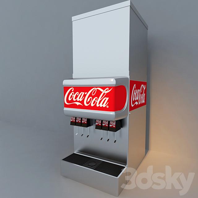 coca cola beverage station
