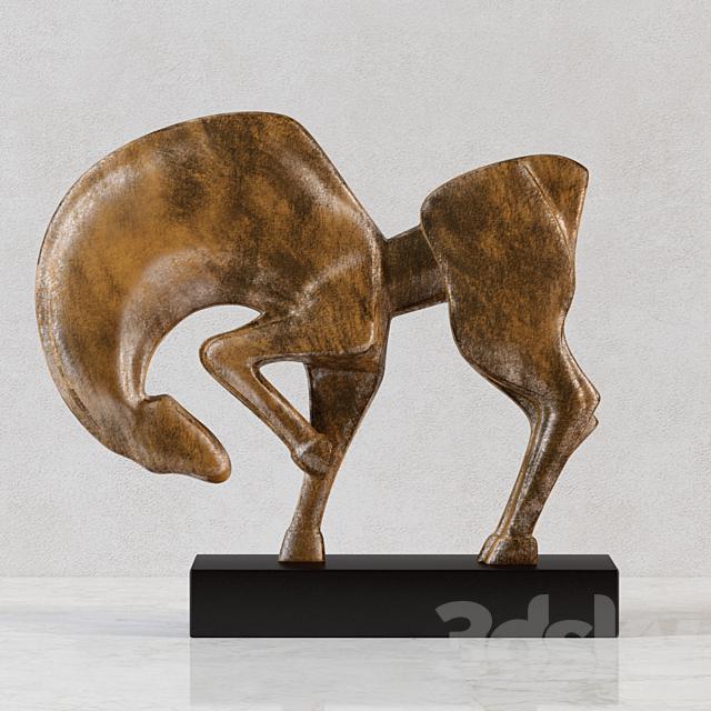 "3d models: Sculpture - Sculpture ""Trotter"""