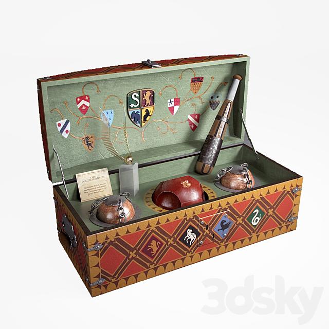 Quidditch game set
