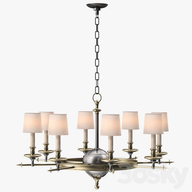Circa Lighting Leaf And Arrow Chandelier