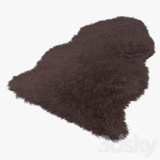 Artificial Sheepskin brown