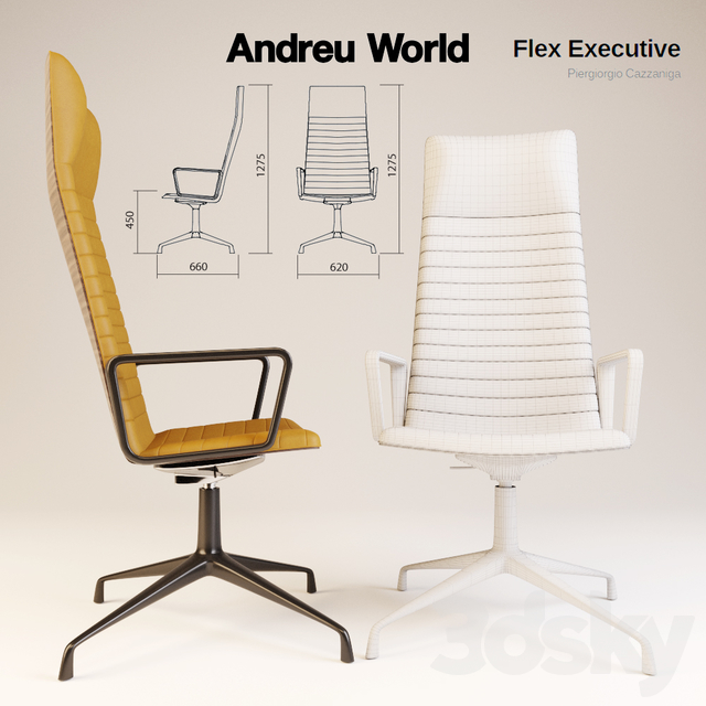 Andreu World Flex Executive SO1846