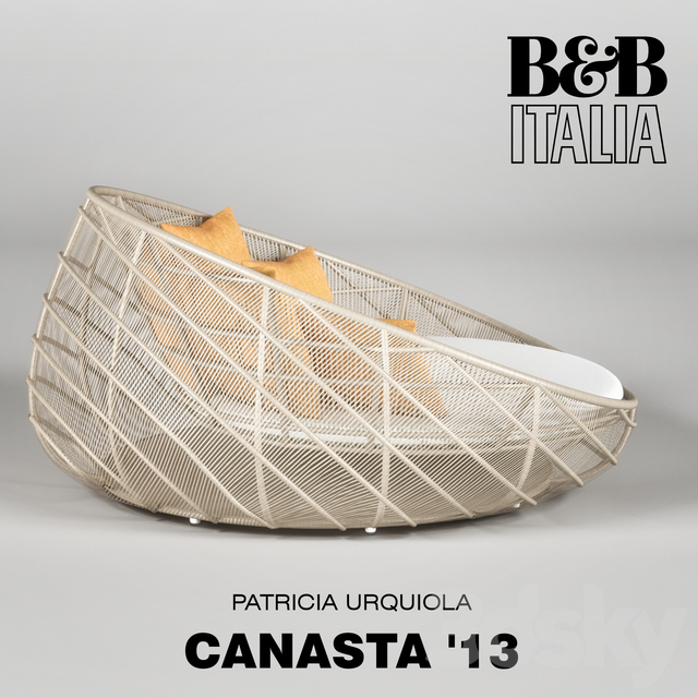 13 Sofa Canasta - B & B ITALIA