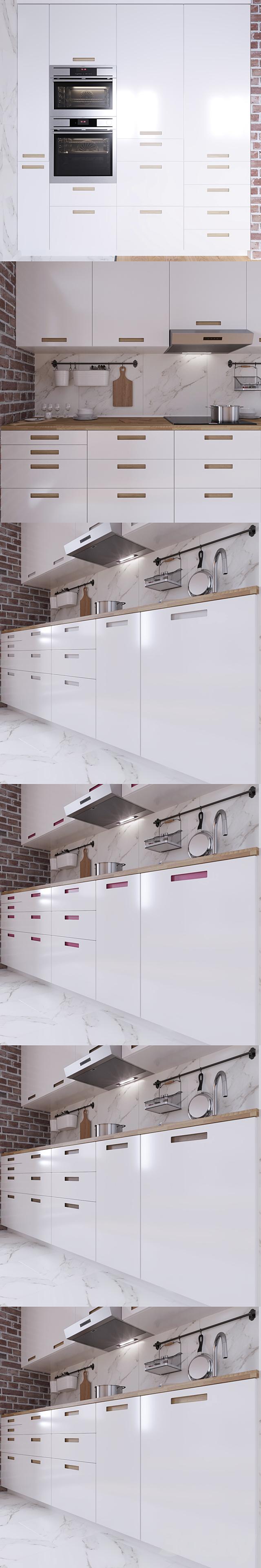 4d models: Kitchen - IKEA mÄRSTA