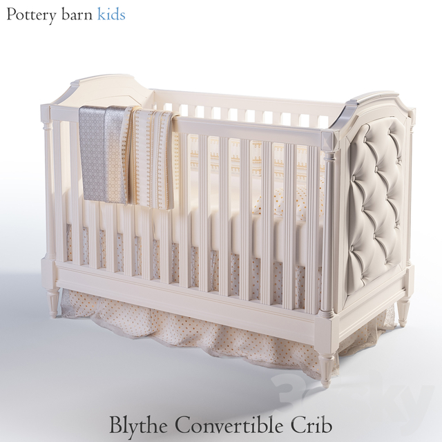Blythe Convertible Crib | Pottery barn