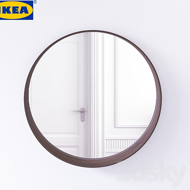 3d Models Mirror Stockholm Mirror Ikea
