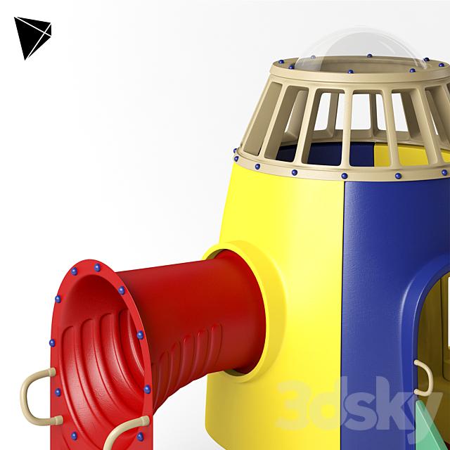 Kids Rocket Playground