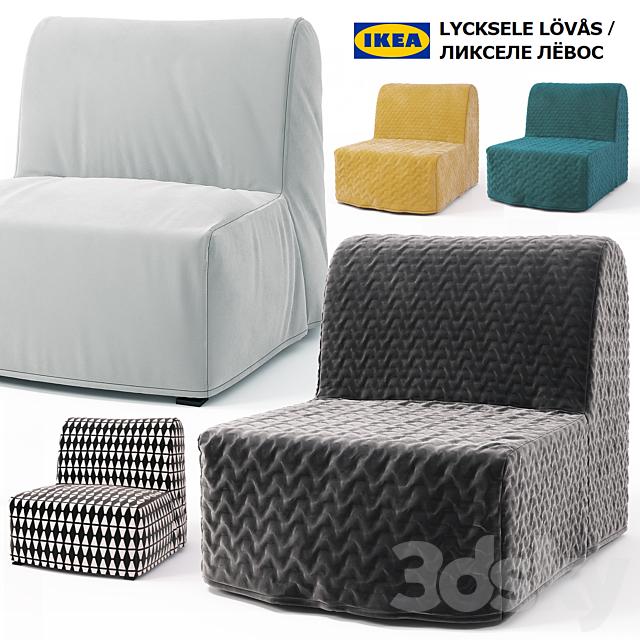 Armchair Bed Ikea Lycksele Lovas, Single Sofa Bed Chair Ikea