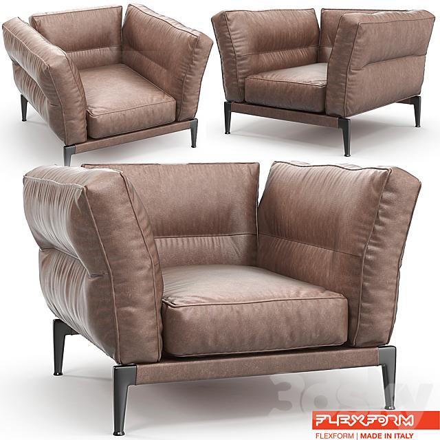 Flexform Adda armchair