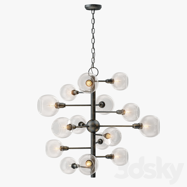 Currey and Company Panpoint Chandelier