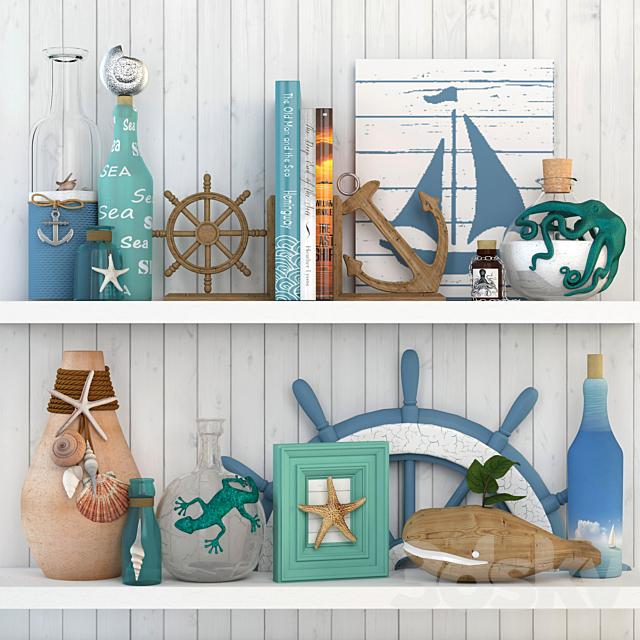 Sea decorative set