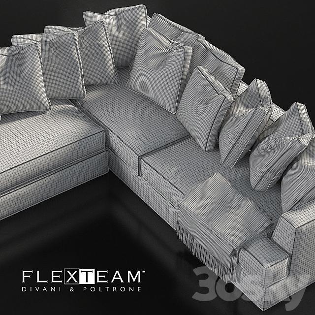 FLEXTEAM_ALBERT_GOLD_SOFA