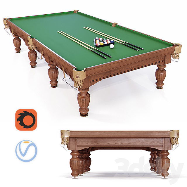 "Billiard table for the ""Olymp"" pool"