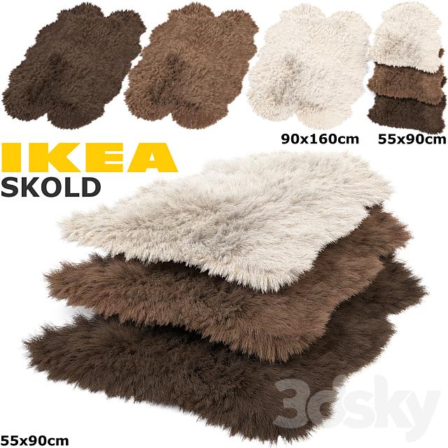 IKEA SKOLD (SKOLD) RUGS SET