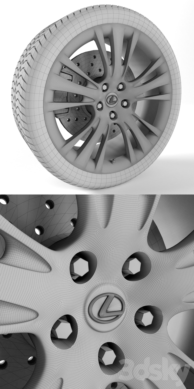 Lexus RX 450h Wheel