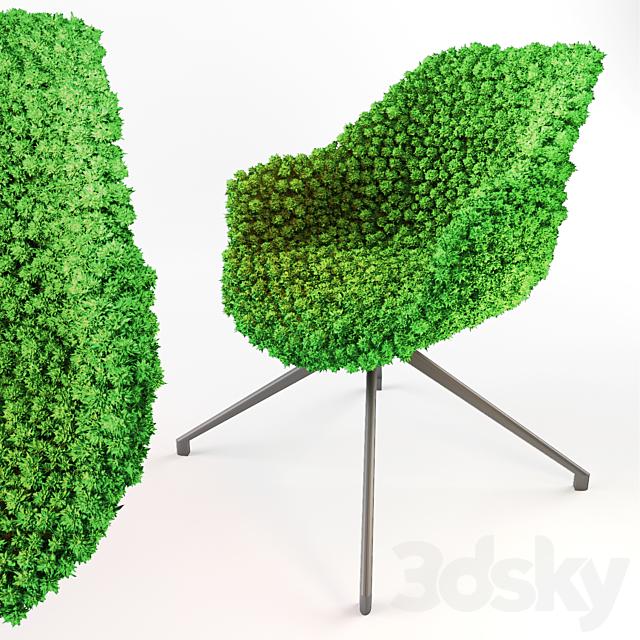 Moss Chair - Natural Green