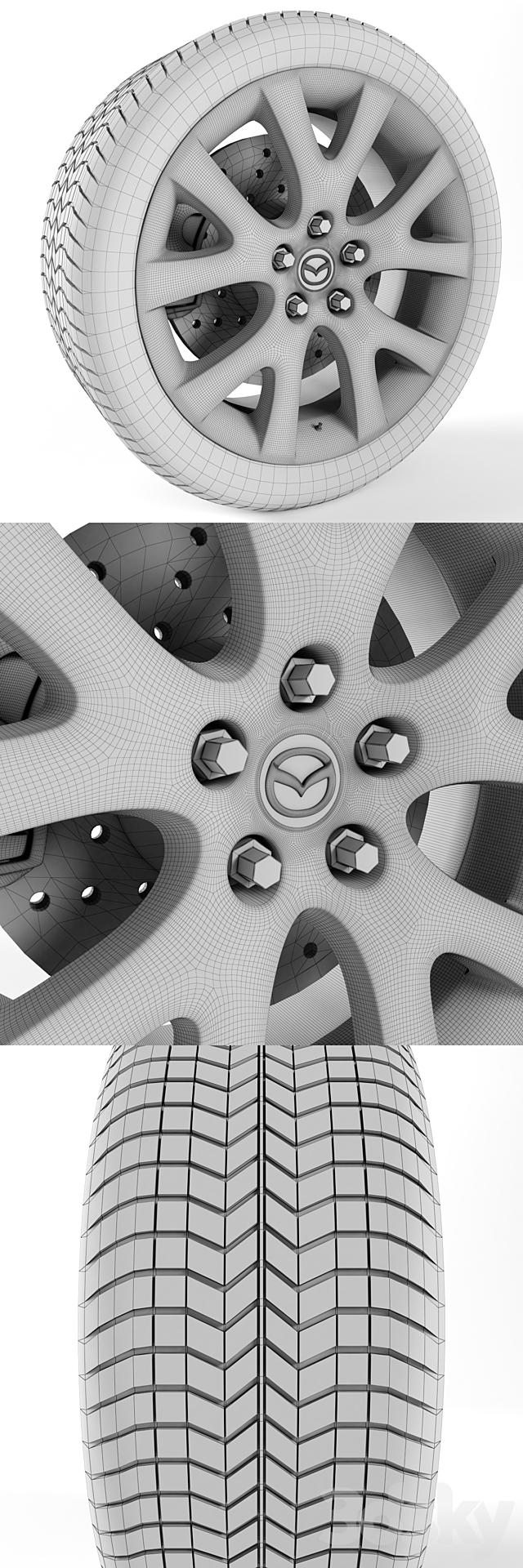 Mazda Cx-7 Wheel