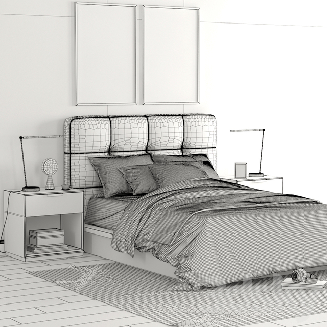 RH Logan bedroom set
