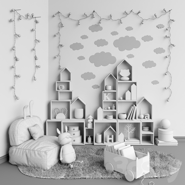 Toys and furniture set 7