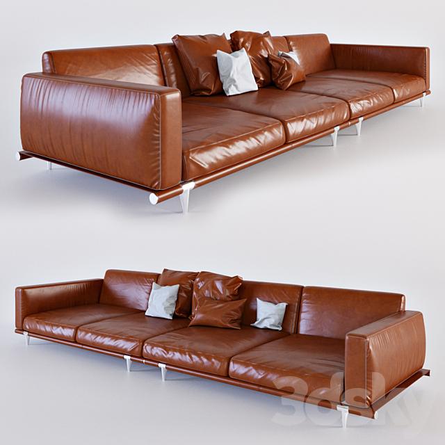 3d Models Sofa Poltrona Frau Let It Be