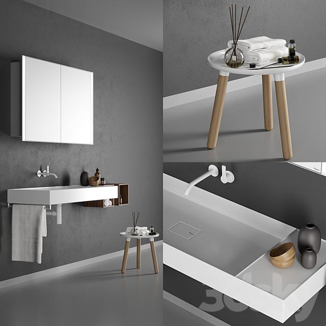 Washbasin Falper Quattro Zero