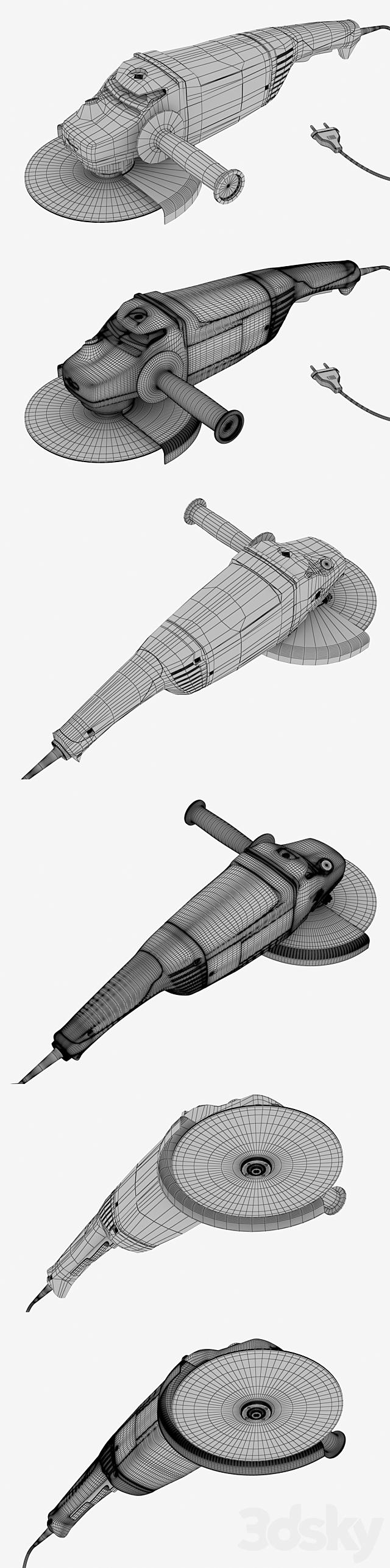 Angle grinder bosch gws 22-230