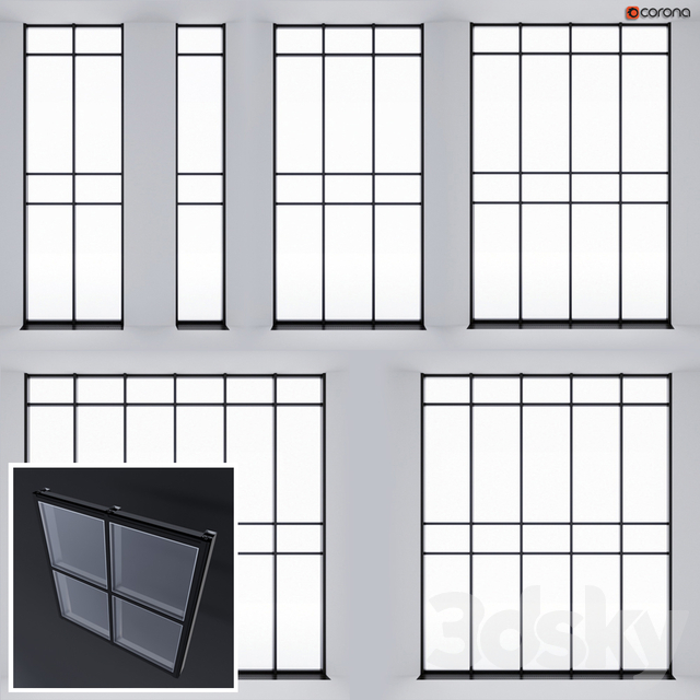 Structural glazing 1