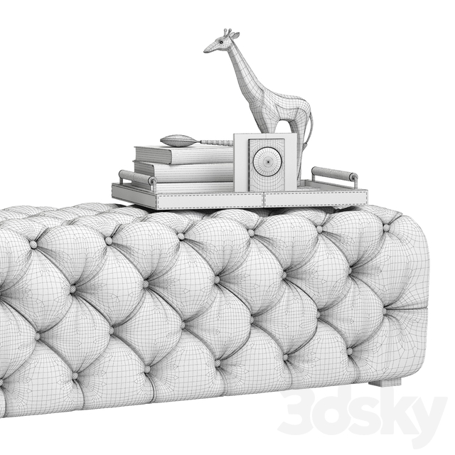 Zgallerie Jules Tufted Bench