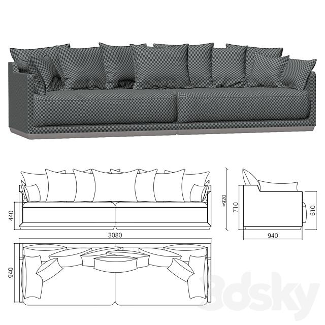 The IDEA Modular Sofa SOHO (item 823-824)