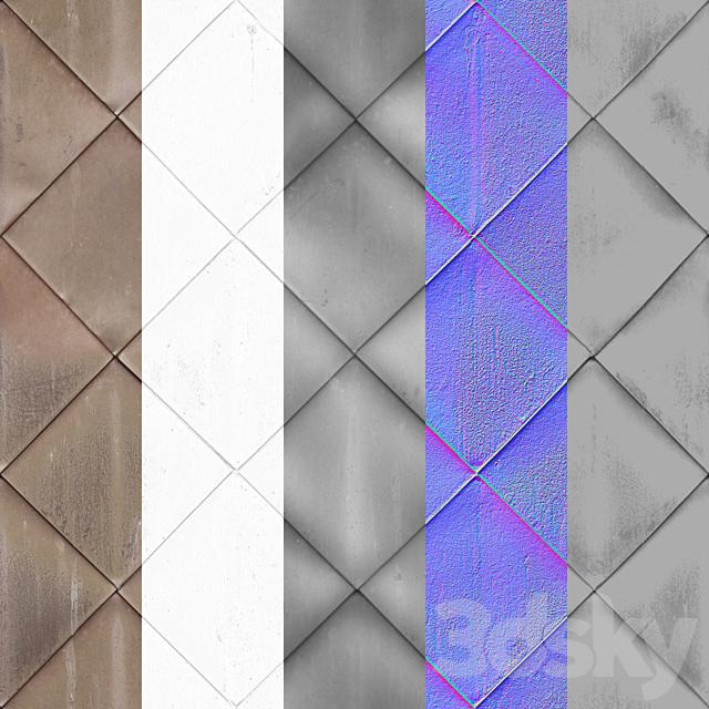 Seamless metal roof tiles