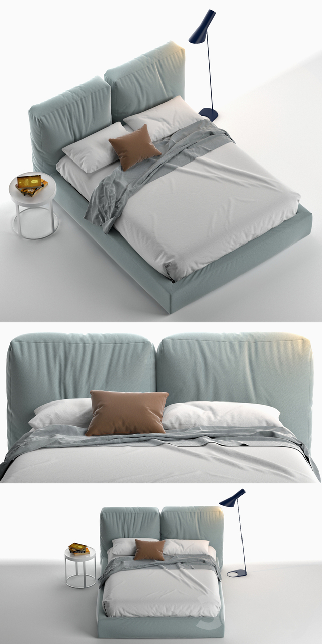 Brick Novamobili Bed