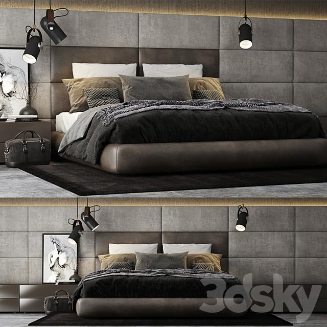 Poliform Dream Bed Headboard
