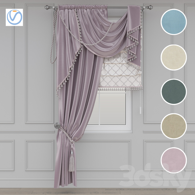 Classic Curtain 1.1 Vray
