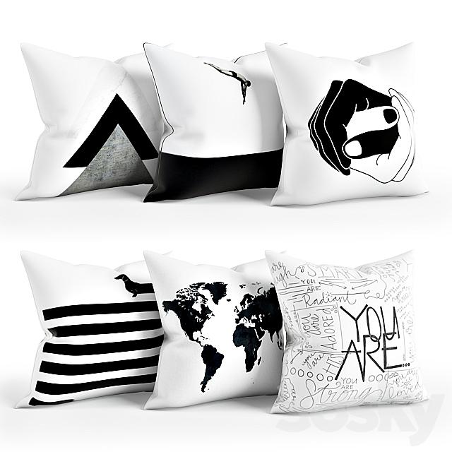 Black_White_Pillow_Set_002