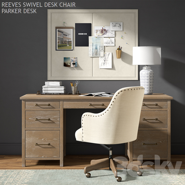 Pottery barn PARKER DESK