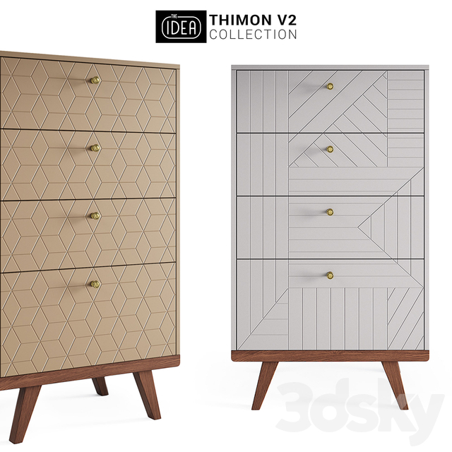The IDEA THINON v2 chest of drawers high