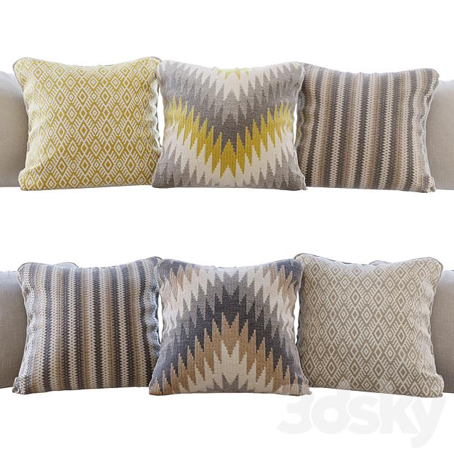 A set of pillows Romo 03