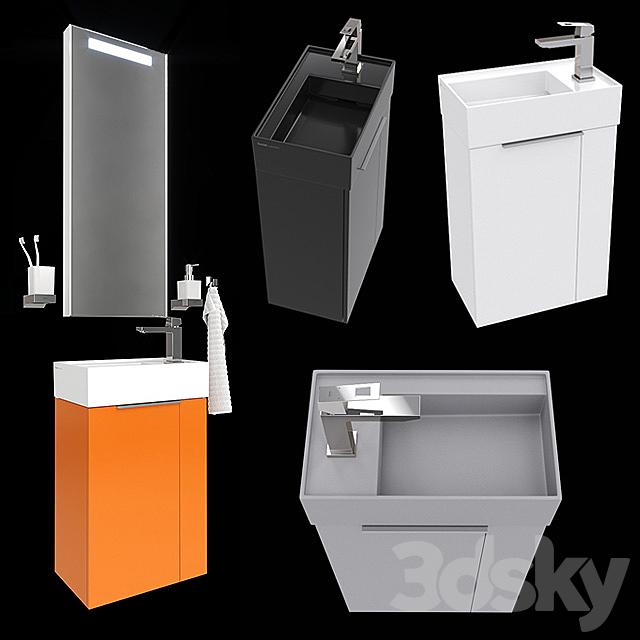 Mini-washbasin Laufen Kartell 815334 (815335).