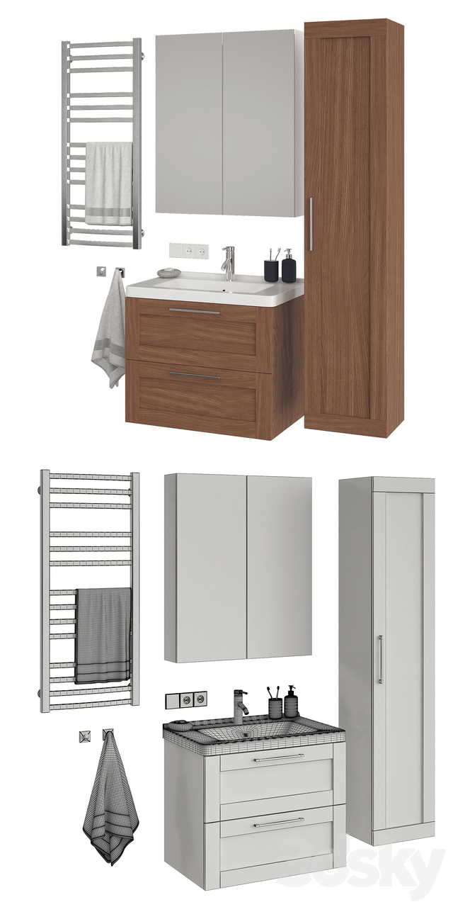 Ikea Godmorgon set 7