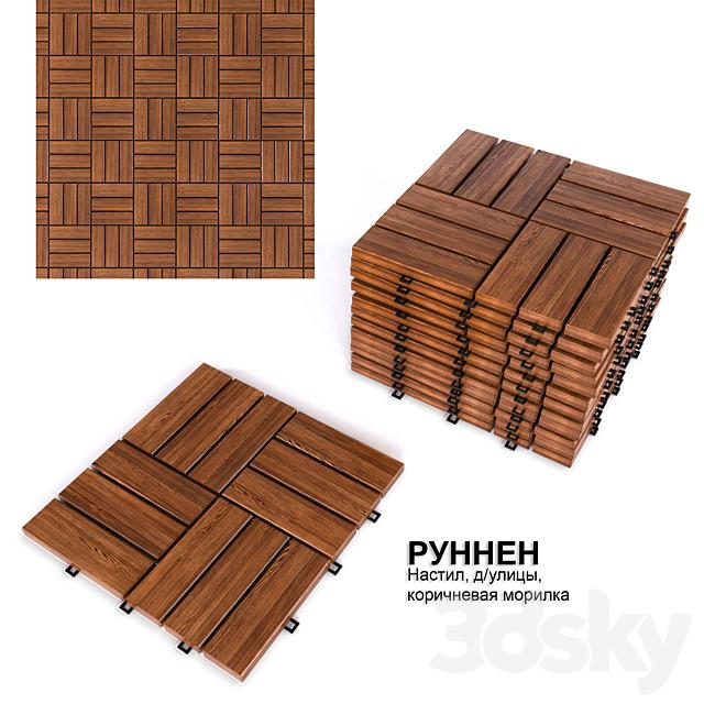 Floor \ Flooring for the street IKEA RUNNEN
